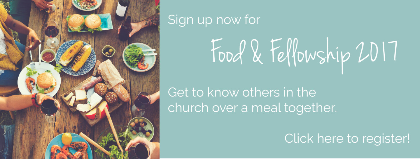 food and fellowship invite