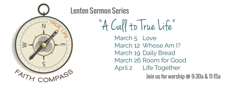 lent sermon series 2017 - 2