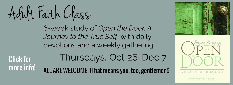 open the door devotion group