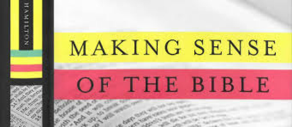 "Adult Faith Study — ""Making Sense of the Bible"""